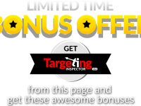 Targeting inspector review video with amazing CPA and Video Creation Bonus